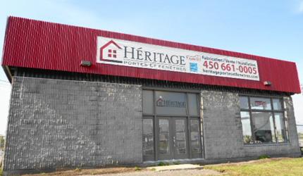Héritage portes et fenêtres inc. |  Laval